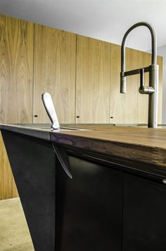 Cody Carpenter recently sent me an email about his modern concrete design. I sort of disregarded it because I haven't seen anything lately Concrete Design, Modern Kitchen Design, Concrete, Modern Design, Interior, Kitchen Design, Concrete Sink, Kitchen Storage, Decor Interior Design