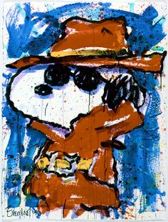 Image detail for -Snoopy Paints by Tom Everhart (6) | Snoopy