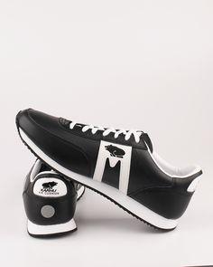 Karhu F802506 Albatross WR black leather sneakers
