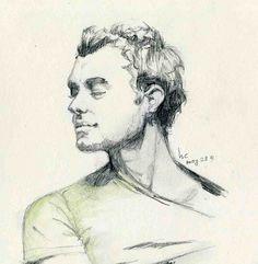 Jude Law illustration