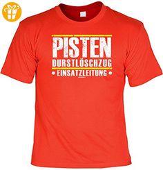 T-Shirt - Pisten Durstlöschzug - Einsatzleitung - lustiges Sprüche Shirt als Geschenk für Skifahrer mit Humor - T-Shirts mit Spruch | Lustige und coole T-Shirts | Funny T-Shirts (*Partner-Link)