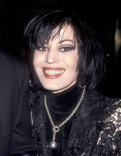 Musician Joan Jett attends the National Baseball Hall of Fame Gala on May 13 1993 at The WaldorfAstoria Hotel in New York City