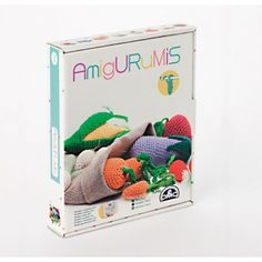 Kit de amigurumi frutas y verduras CR027K