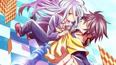 Shiro and Sora No Game No Life Picture Anime