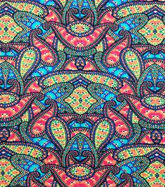 538248c8076 Nicole Miller Rayon Spandex Fabric-Kaleidoscope Multi Online Craft Store,  Craft Stores, Joanns