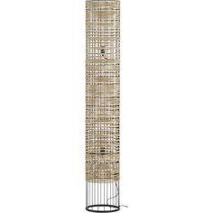 "CB2 peek floor lamp $249 (for corner of long wall near soon-to-be bookshelf) 11.25"" dia. x 67.75""H"