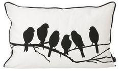 Coussin Lovebirds 60 cm x 40 cm - Ferm Living - Made In Design