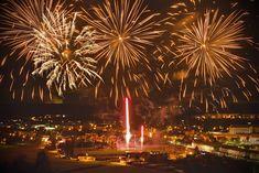 Nový rok 2020 v Ivančicích foto:Milan Popovič Milan, Candles, Candy, Candle Sticks, Candle