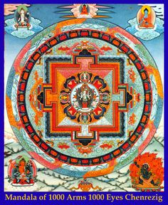 Avalokiteshvara de 1000 brazos