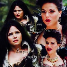 Regina & Snow episode 2. Fantastic acting in this scene both by Ginny and Lana.