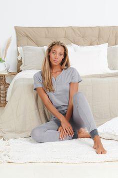 Sleep better with Dagsmejan's sleep enhancing pajamas Most Comfortable Pajamas, Cotton Pjs, Best Pajamas, Fibre And Fabric, Swedish Design, Sleep Shirt, Good Night Sleep, Stay Warm, Pyjamas