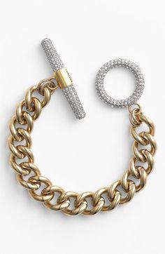 Juicy Couture 'Luxe Rocks' Pavé Toggle Bracelet | Nordstrom