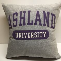 A personal favorite from my Etsy shop https://www.etsy.com/listing/511010491/ashland-ohio-university-tshirt-pillow