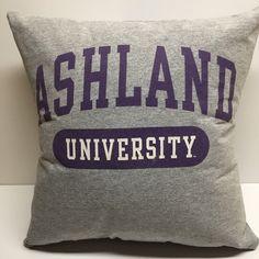 A personal favorite from my Etsy shop https://www.etsy.com/listing/511010491/ashland-ohio-university-tshirt-pillow