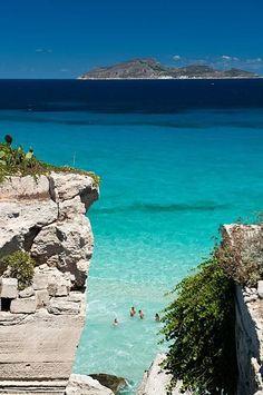 Isole Egadi. Sicily.Italy