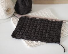 waffle knit dish cloths-I'm going to make some of these