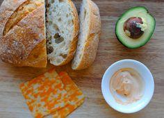 Grown Up Grilled Cheese (See Jane Make) via See Jane / @Anna Jane Wisniewski