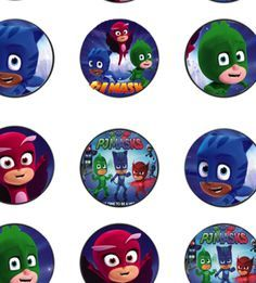 This is your source for TONS of FREE PJ Masks Party Printables. All free, the folks at Mandy's Party Printables have checked each out! Pj Masks Cupcake Toppers, Pj Mask Cupcakes, Fondant Toppers, 4th Birthday Parties, Happy Birthday Banners, Birthday Fun, Birthday Cupcakes, Pjmask Party, Party Ideas