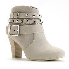 Jennifer Lopez Women's High Heel Ankle Boots #Kohls
