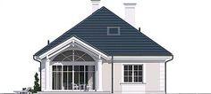 Projekt Dom na parkowej 7 B 151,65 m2 - koszt budowy 213 tys. zł - EXTRADOM Home Fashion, Cabin, Mansions, Architecture, House Styles, Home Decor, Homes, Arquitetura, Decoration Home