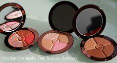 Guerlain Terracotta Four Seasons Bronzers- Ebony 08, Nude 00 & Moyen Brunettes 05