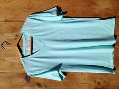 Fair Aqua. 100% Supima Cotton. Made in America. $25.00.