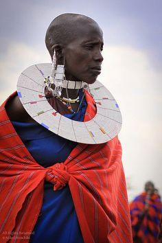 Masai woman.