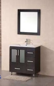 "Luxe 30"" Bathroom Vanity - Royal Bath Place $399"