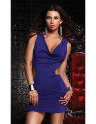 #Tantalize Dress Cutout Forplay Purple  party fashion #2dayslook #new style #partyforwomen  www.2dayslook.com