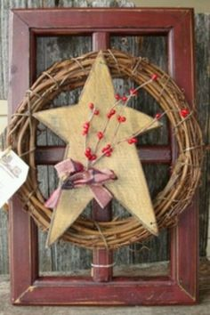 Country decor....love this, it would go so good with my hearts & stars kitchen decor