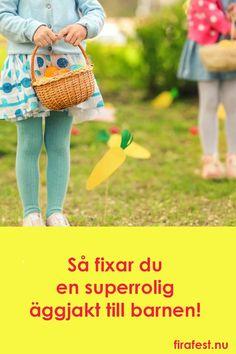Tips och idéer till påskens roligaste äggjakt för barnen.   #äggjakt #påsk #påsklekar #ägglekar #festlekar