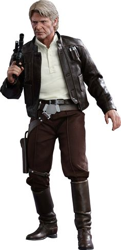 Han Solo 1/6th Scale Hot Toys Action Figure | Star Wars Episode VII: The Force Awakens | Hot Toys | Popcultcha