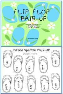 FREEBIE--This packet can be used to teach the sounds of the short vowels and the long vowels in words ending in an 'e'. Also, students will learn the difference between two of the six syllable types—Closed Syllables and V-C-e Syllables. Kindergarten Reading Activities, Reading Resources, In Kindergarten, Teacher Resources, Word Sorts, Short Vowels, Emergent Readers, Syllable, Literacy Centers