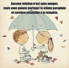 Vaincre ensemble la tempête, renforce l'amour...
