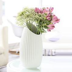 SHELL WHITE by Patrick Norguet - Vase