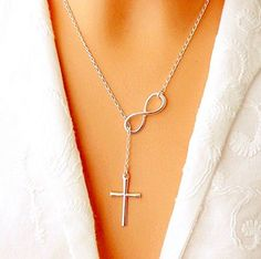 Infinity cross pendant necklace women girl wedding event necklace jewelry gift by Chonlyshop Chonlyshop http://www.amazon.com/dp/B00TE1XYE0/ref=cm_sw_r_pi_dp_UMjAvb1KXCWPQ
