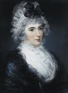 John Russell - Portrait of Janet Grizel Cuming  1794  Pastel  59x44 cm