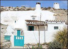 Slapen in een grotwoning in Andalusië
