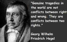 """""""What experience and history teaches us is that people and governments have never learned anything from history, or acted on principles deduced from it.""""  - George Wilhelm Friedrich Hege"""