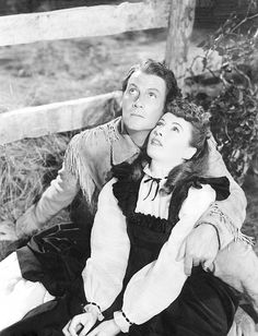 THE GREAT MAN'S LADY (1942) - Barbara Stanwyck & Joel McCrea - Directed by William A. Wellman - Paramount