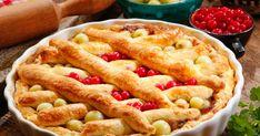 Egy finom Ribizlis egrespite vacsorára, ebédre Apple Pie, Food, Essen, Meals, Yemek, Apple Pie Cake, Eten, Apple Pies