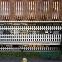 Ignazio Gardella, C: Alessandria, Dispensario Antitubercolare John Hejduk, Natural Light, Landscape Design, Facade, Scene, Ladders, Architecture, Bricks, Building