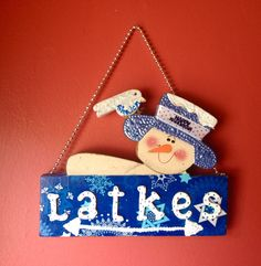 A personal favorite from my Etsy shop https://www.etsy.com/listing/245471400/judaica-funny-chanukah-decoration-jewish