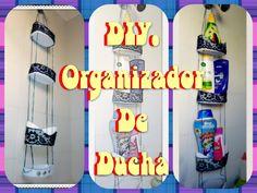 DIY. Organizador de ducha   Manualidades Yeye - http://cryptblizz.com/como-se-hace/diy-organizador-de-ducha-manualidades-yeye/