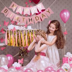 Amazon.com: Blulu Happy Birthday Bunting Banner Pastel with Tissues Paper Tassels 20 Pieces: Toys & Games