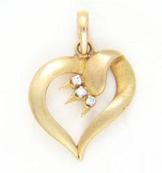 Diamond Ids Pendant DID3214 #GarnerBears #Popley #Pendant #Diamond #Designer