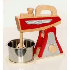 Red Retro Kitchen Toy Mixer