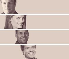 Castle,  Beckett, Espo and Ryan. Oh how I love this cast of characters!