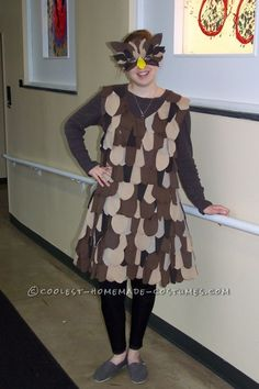 Great DIY Lady Owl Halloween Costume ...This website is the Pinterest of costumes