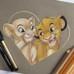 Managed to finish Nala and Simba before 4th of July festivities! Hope everyone…